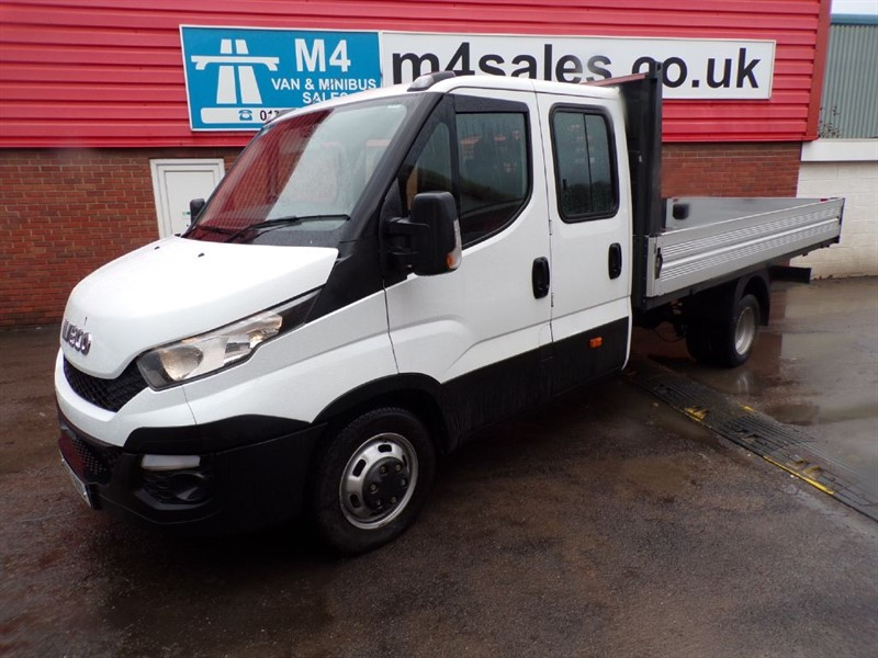 used Iveco Daily LWB D/C DROPSIDE 13.5FT 150PS in wiltshire