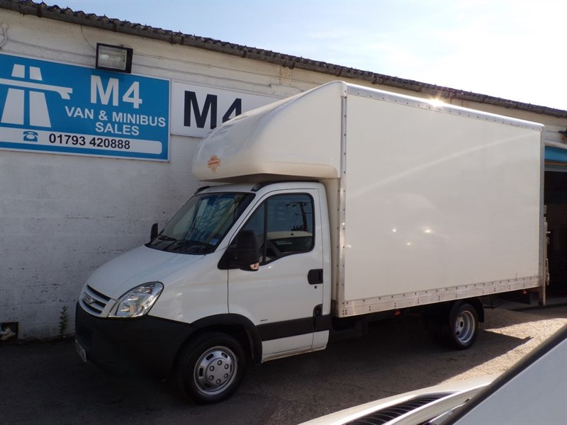 used Iveco Daily 35C12 3450 MWB LUTON 120PS WITH T/LIFT in wiltshire