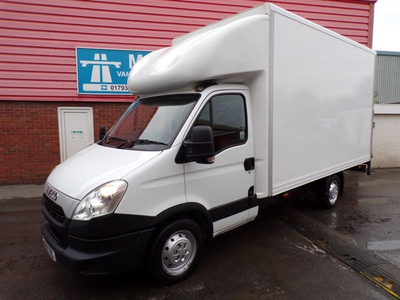 used Iveco Daily 35S17 3.0 LWB LUTON WITH TAILLIFT in wiltshire