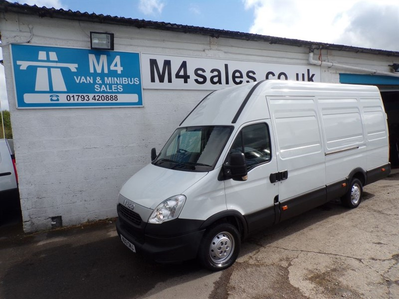 used Iveco Daily 35S13V XLWB H/R  in wiltshire