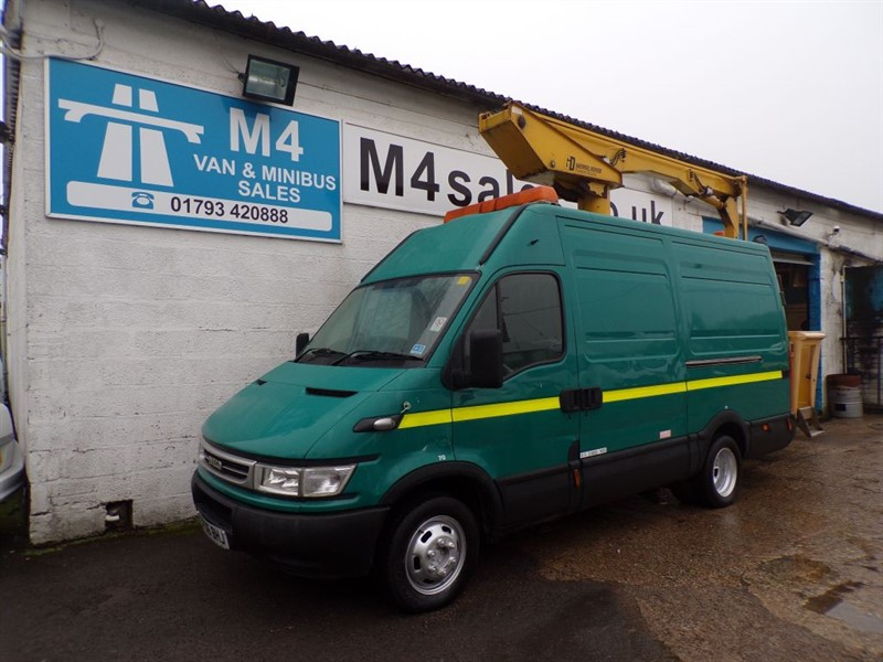 used Iveco Daily 50C13V CHERRY PICKER in wiltshire