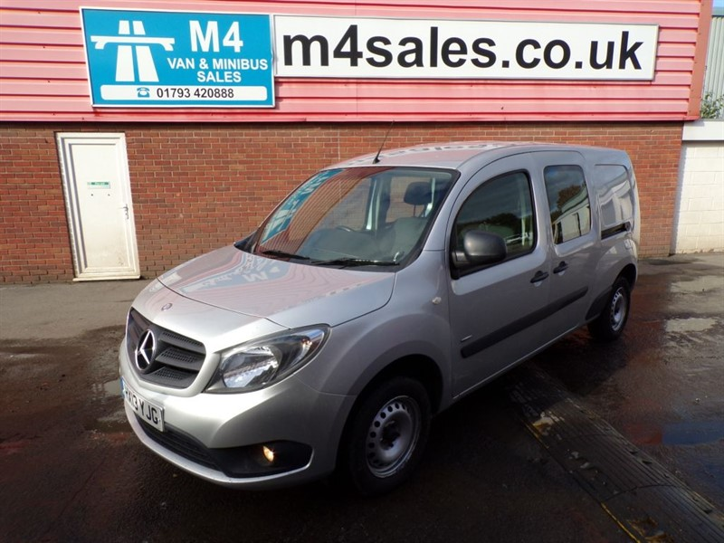 used Mercedes Citan 109 CDI LWB CREW VAN A/C 109PS in wiltshire