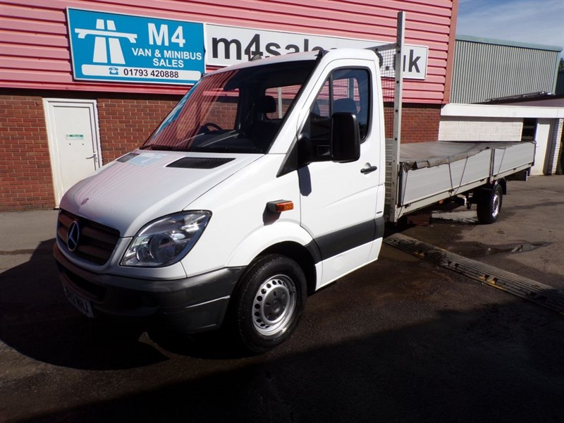 used Mercedes Sprinter 313 CDI LWB 20FT ALLOY BODY DROPSIDE in wiltshire