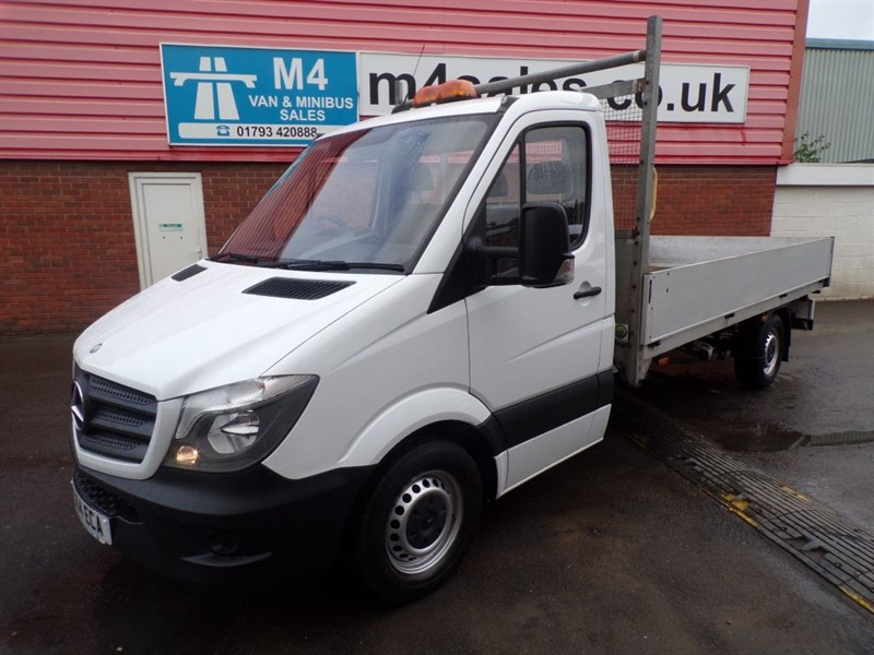 used Mercedes Sprinter 313 CDI DROPSIDE 130PS  in wiltshire