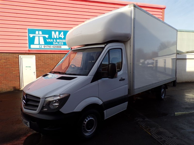 used Mercedes Sprinter 313 CDI LWB WITH TAIL LIFT 130PS in wiltshire
