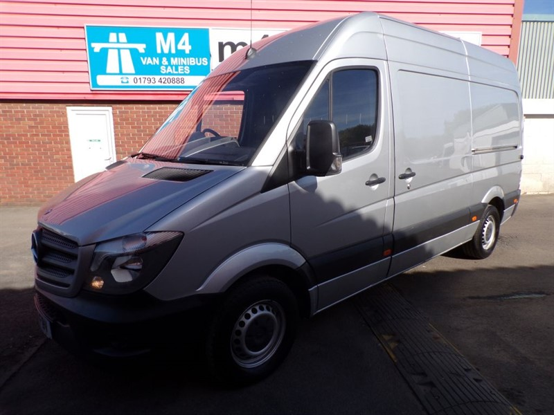 used Mercedes Sprinter 313 CDI MWB HI ROOF 130PS in wiltshire