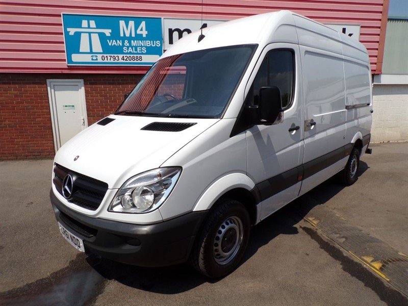 used Mercedes Sprinter 313 CDI MWB H/R 130PS in wiltshire