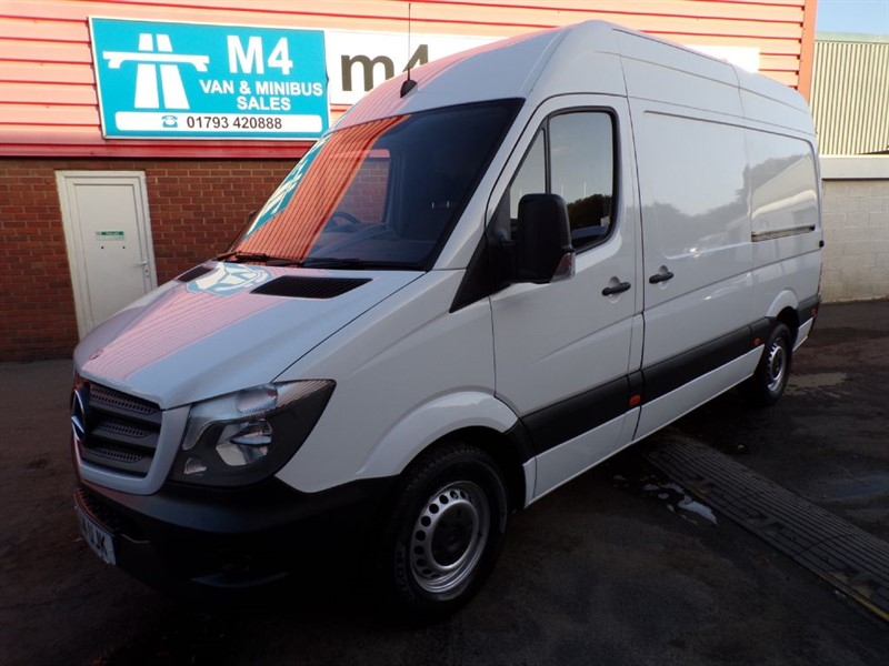 used Mercedes Sprinter 310 CDI MWB 110PS in wiltshire