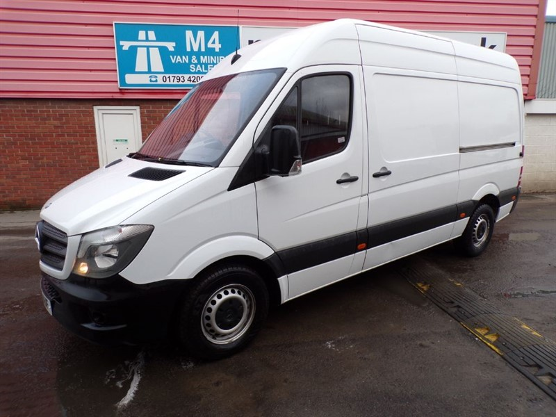 used Mercedes Sprinter 313 CDI MWB HIGH ROOF 130PS in wiltshire