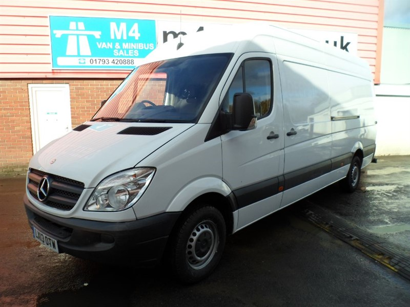 used Mercedes Sprinter 313 CDI LWB HI ROOF WITH A/C  in wiltshire
