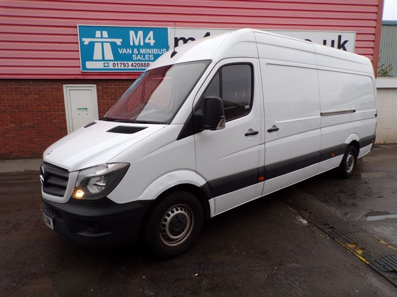 used Mercedes Sprinter 313 CDI LWB HIGH ROOF in wiltshire
