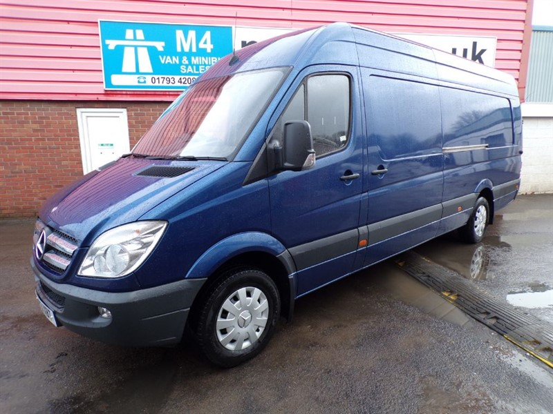 used Mercedes Sprinter 316 CDI XLWB HIGH ROOF 160PS in wiltshire