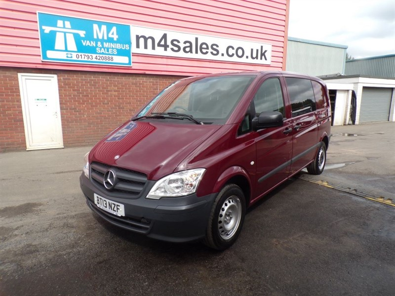 used Mercedes Vito 113 CDI DUALINER in wiltshire