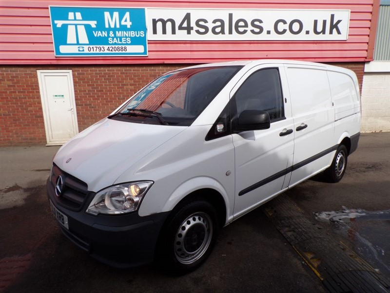 used Mercedes Vito 113 CDI LWB  in wiltshire