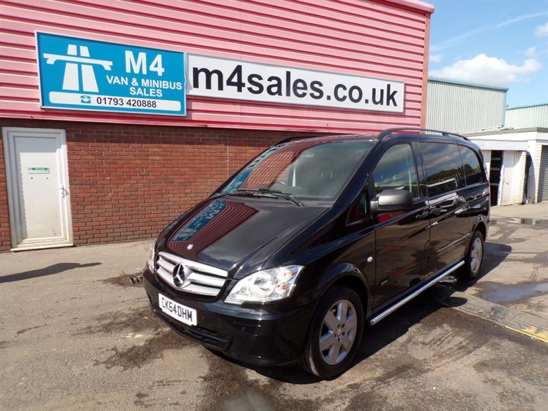 used Mercedes Vito 116 CDI DUALINER AUTO LWB WITH A/C in wiltshire