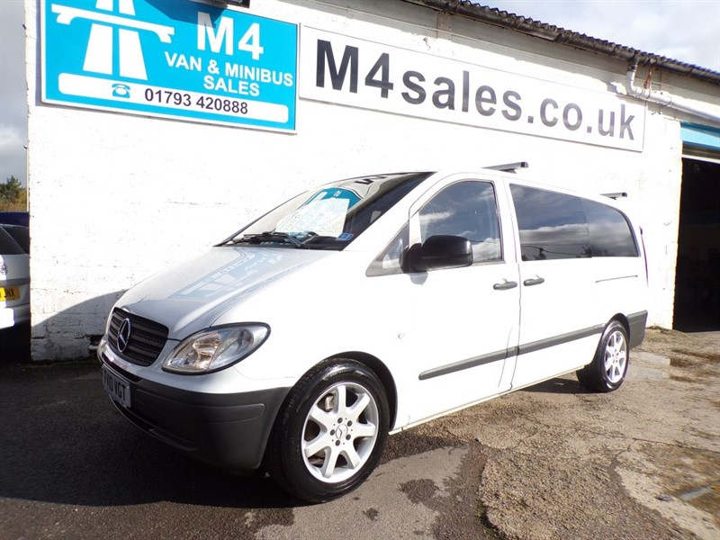 used Mercedes Vito 109 CDI LWB NO VAT  in wiltshire