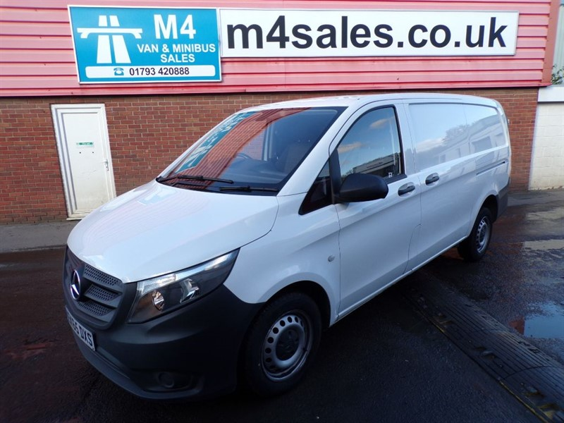 used Mercedes Vito 111 CDI LWB 1.6 in wiltshire