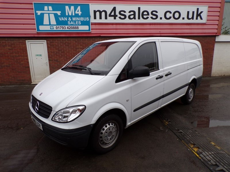 used Mercedes Vito 111 CDI LWB 110PS *NO VAT* in wiltshire
