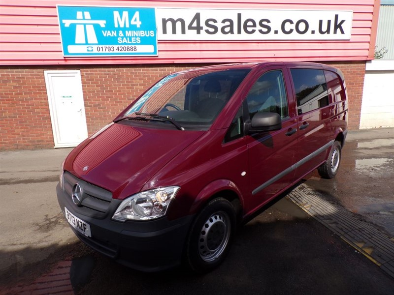 used Mercedes Vito 113 CDI DUALINER AUTO  in wiltshire