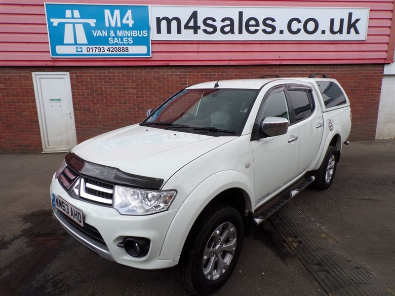 used Mitsubishi L200 DI-D 4X4 BARBARIAN D/C PICKUP A/C in wiltshire
