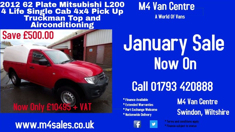 used Mitsubishi L200 DI-D 4X4 4LIFE S/C in wiltshire