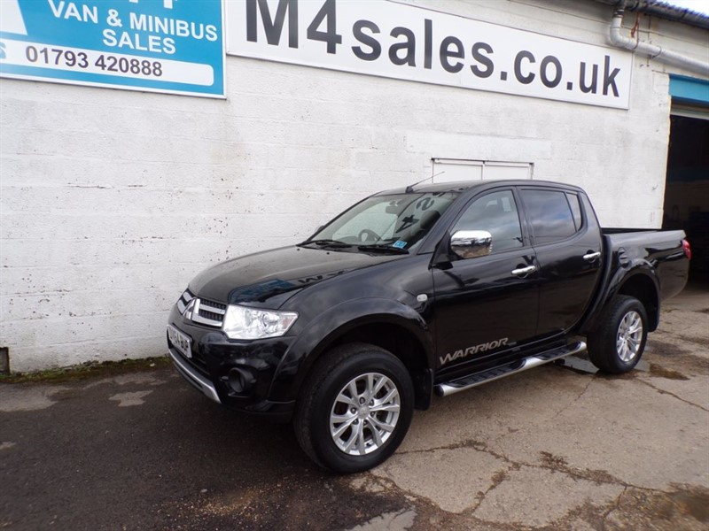 used Mitsubishi L200 DI-D 4X4 WARRIOR DCB 176PS in wiltshire