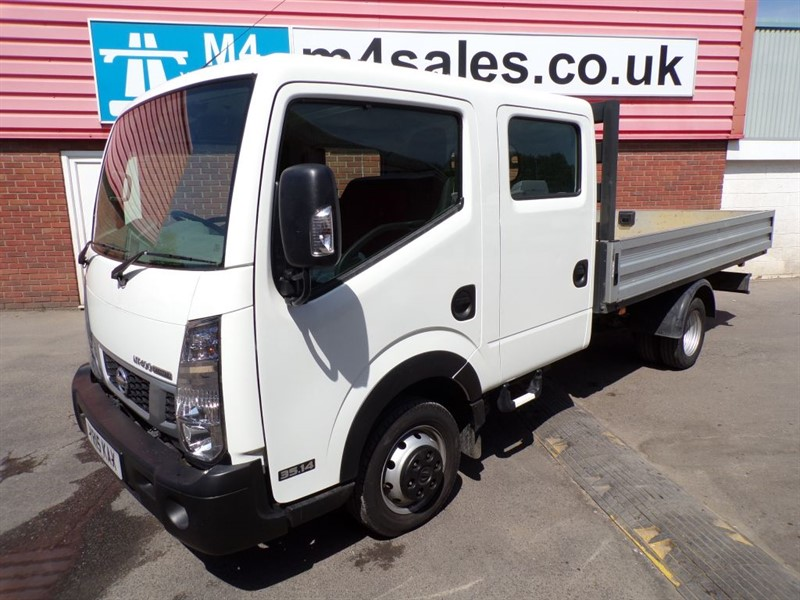 used Nissan Cabstar NT400 DCI 35.14 DROPSIDE D/C LWB  in wiltshire