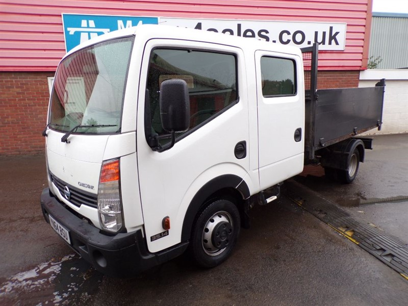 used Nissan Cabstar 35.14 D/C LWB TIPPER CREWVAN   in wiltshire