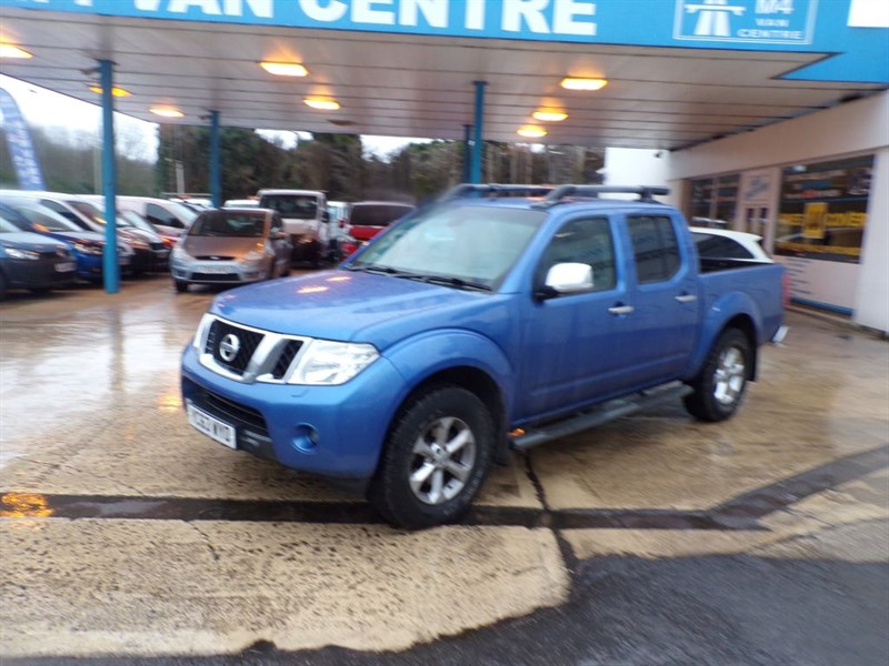 used Nissan Navara DCI TEKNA 4X4 double/cab NO VAT in wiltshire