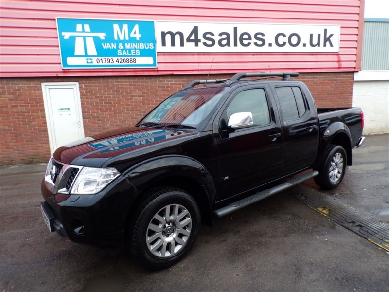 used Nissan Navara OUTLAW DCI 4X4 D/C A/C in wiltshire