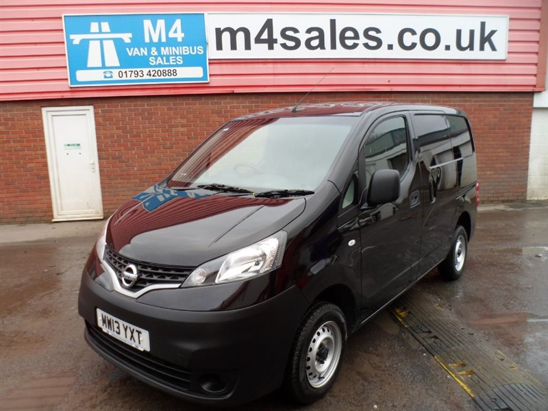 used Nissan NV200 SE DCI SWB 89PS in wiltshire