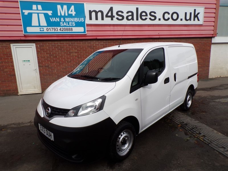 used Nissan NV200 SE DCI SWB 90PS in wiltshire
