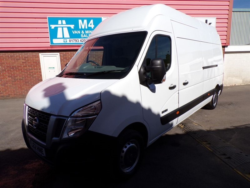 used Nissan NV400 DCI SE EHR LWB CRUISE CONTROL in wiltshire