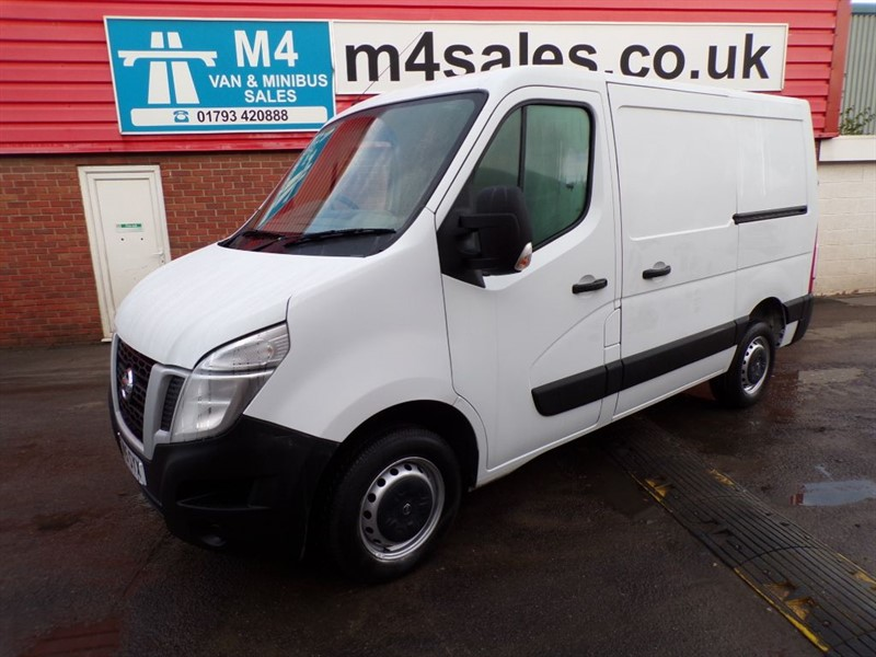 used Nissan NV400 DCI F28 L1H1 110PS NO VAT in wiltshire