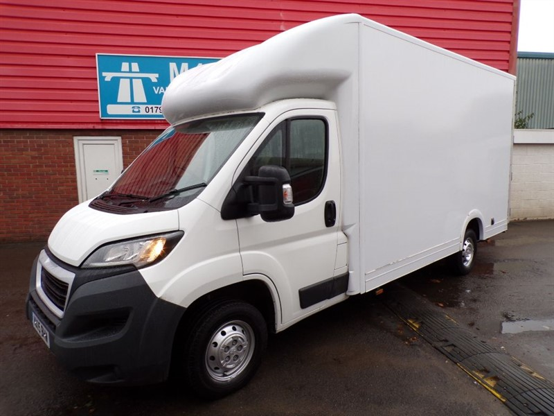 used Peugeot Boxer HDI 335 L3 F/C in wiltshire