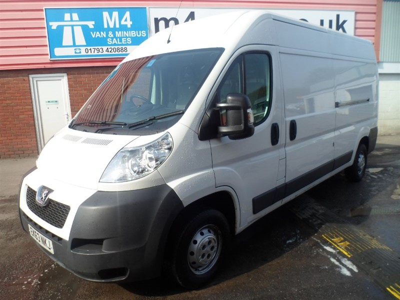 used Peugeot Boxer L/HIGH HDI L3 H2 PROFESSIONAL A/C  in wiltshire