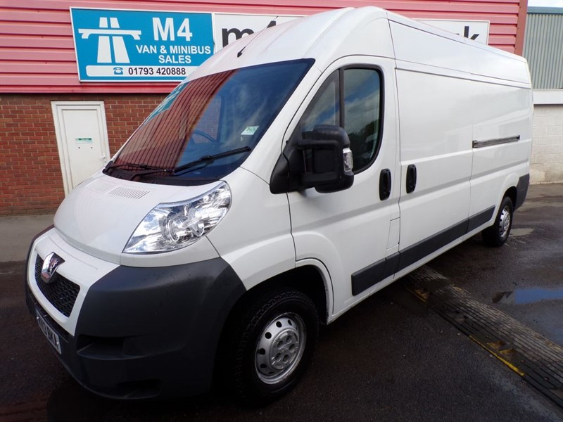 used Peugeot Boxer HDI 335 L3H2 130PS in wiltshire