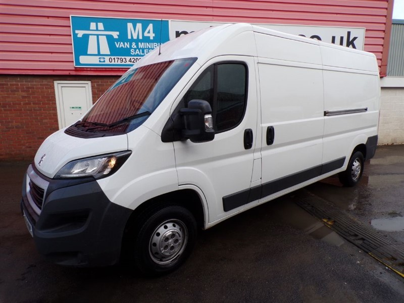 used Peugeot Boxer HDI 335 L3 H2 PROFESSIONAL 130PS A/C in wiltshire