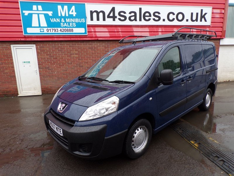 used Peugeot Expert L1 H1 HDI SWB TWIN SLD *NO VAT* in wiltshire