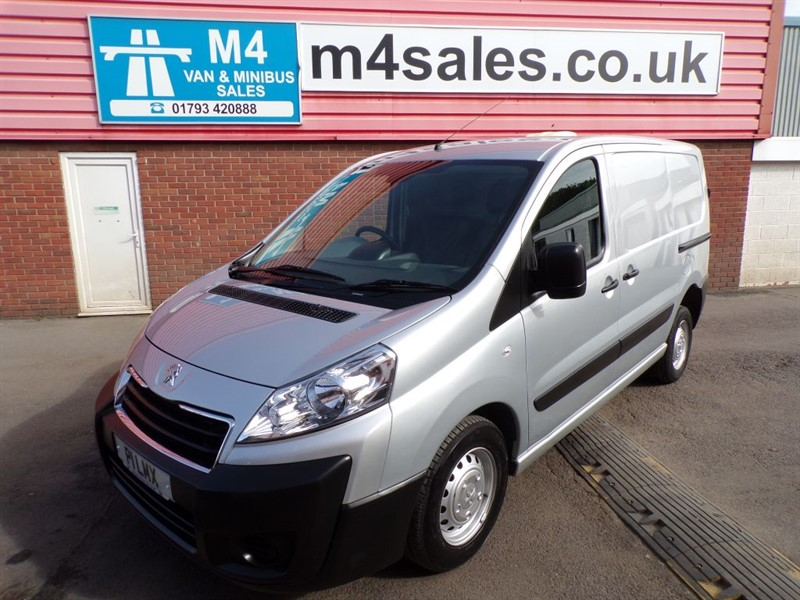used Peugeot Expert HDI 1000 PROFESSIONAL L1H1 SWB  A/C in wiltshire