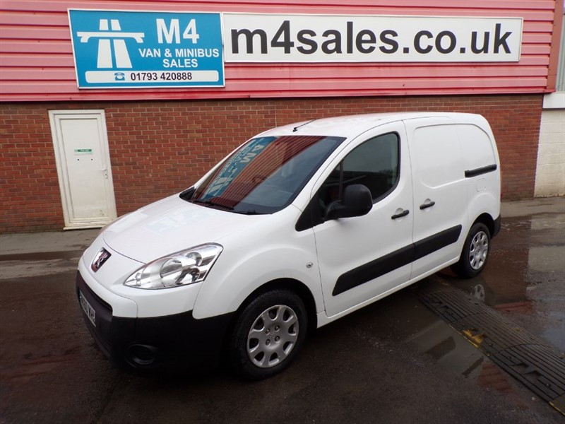 used Peugeot Partner HDI SWB L1 1.6 *NO VAT* in wiltshire
