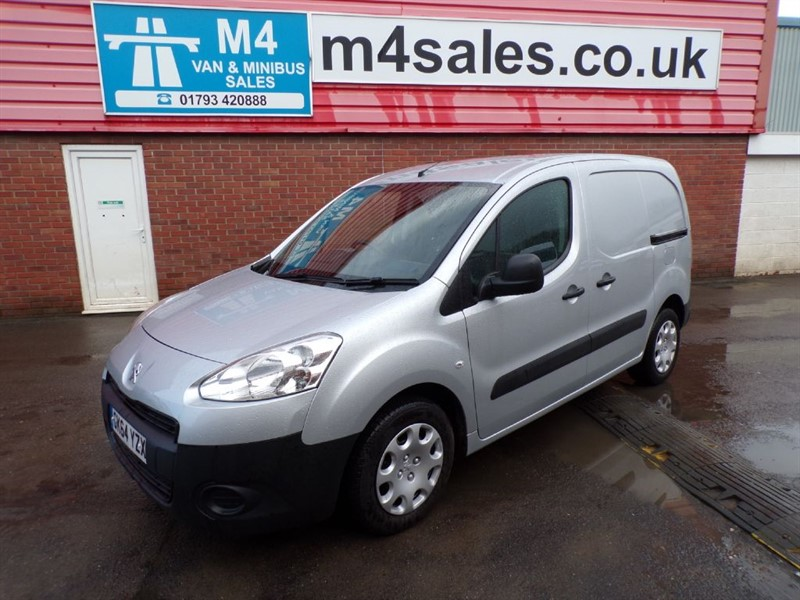 used Peugeot Partner HDI PROFESSIONAL L1 625 75PS A/C in wiltshire