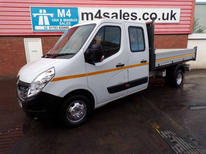 used Renault Master LL35 BUSINESS D/C TIPPER in wiltshire