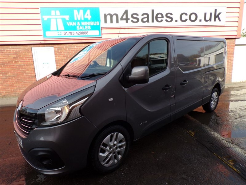 used Renault Trafic SPORT DCI LWB A/C 115PS NO VAT in wiltshire