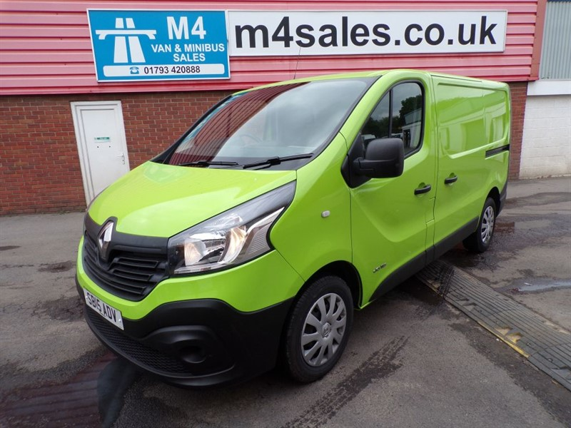 used Renault Trafic SL27 BUSINESS DCI SWB L/R 115PS in wiltshire