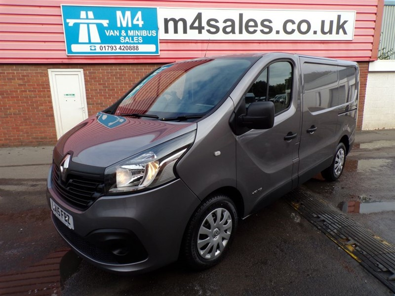 used Renault Trafic SL27 BUSINESS DCI 2.7T SWB 115PS WITH A/C in wiltshire