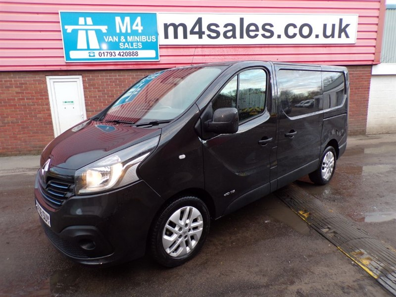 used Renault Trafic SL27 SPORT DCI SWB 115PS A/C in wiltshire
