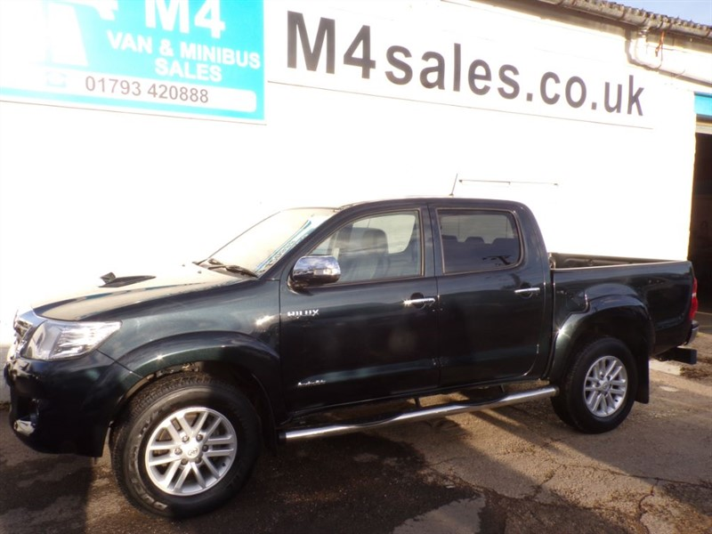 used Toyota  INVINCIBLE 4X4 D-4D DOUBLE CAB in wiltshire