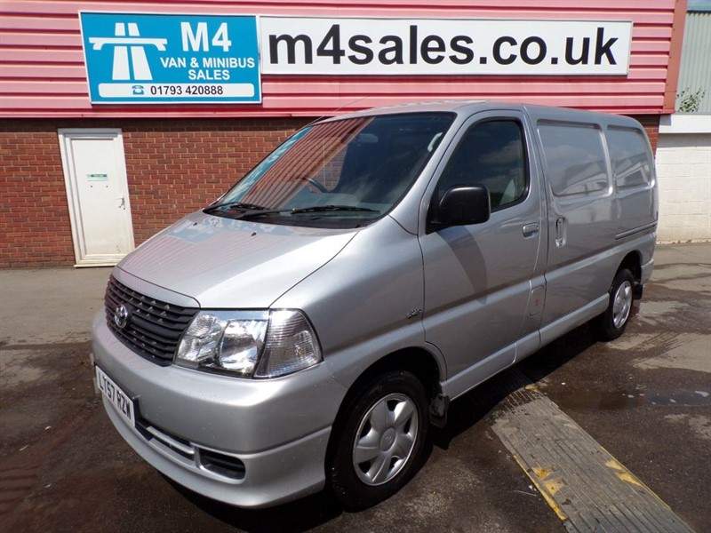 used Toyota Hiace 280 SWB D-4D 95 in wiltshire