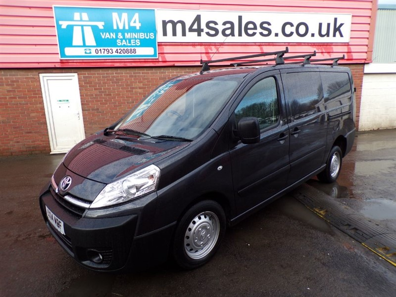 used Toyota Proace L2H1 HDI 1200 WITH A/C 163PS in wiltshire